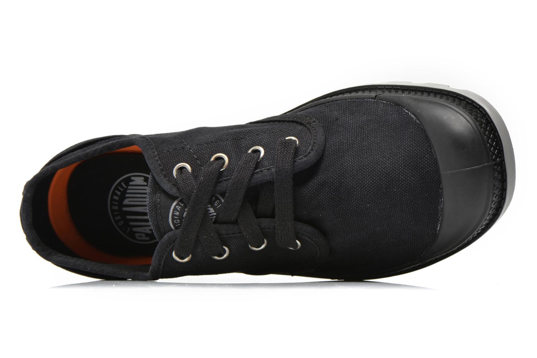Sneakers Palladium Us oxford h Zwart links