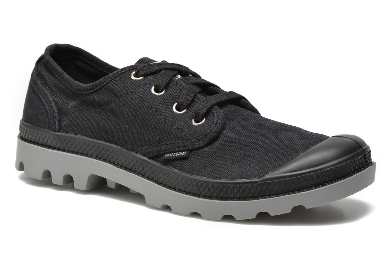 Sneakers Palladium Us oxford h Zwart detail