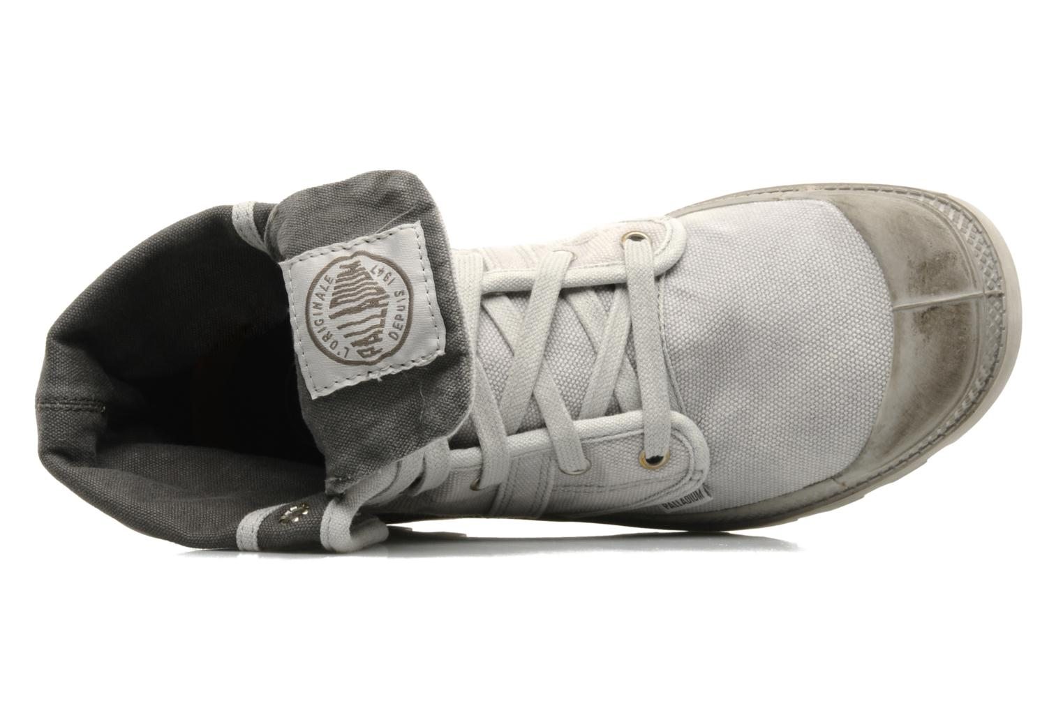 Sneakers Palladium Us Baggy H Grijs links