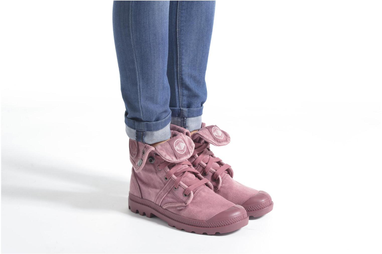 Sneakers Palladium Us Baggy F Zwart onder