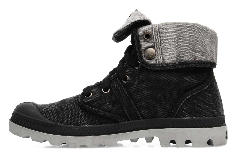 Sneakers Palladium Us Baggy F Zwart voorkant