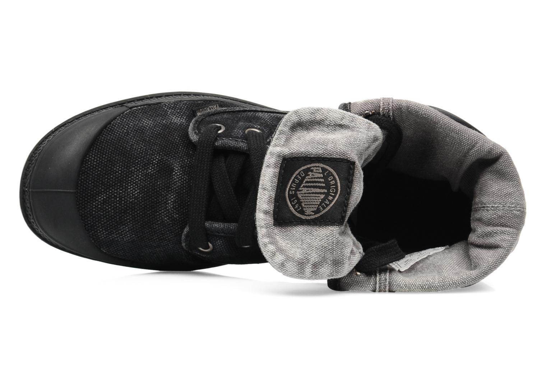 Sneakers Palladium Us Baggy F Zwart links