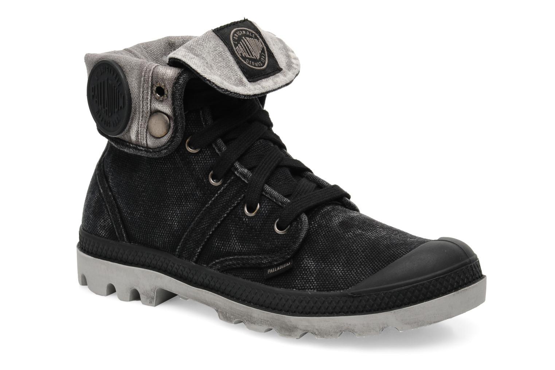Sneakers Palladium Us Baggy F Zwart detail