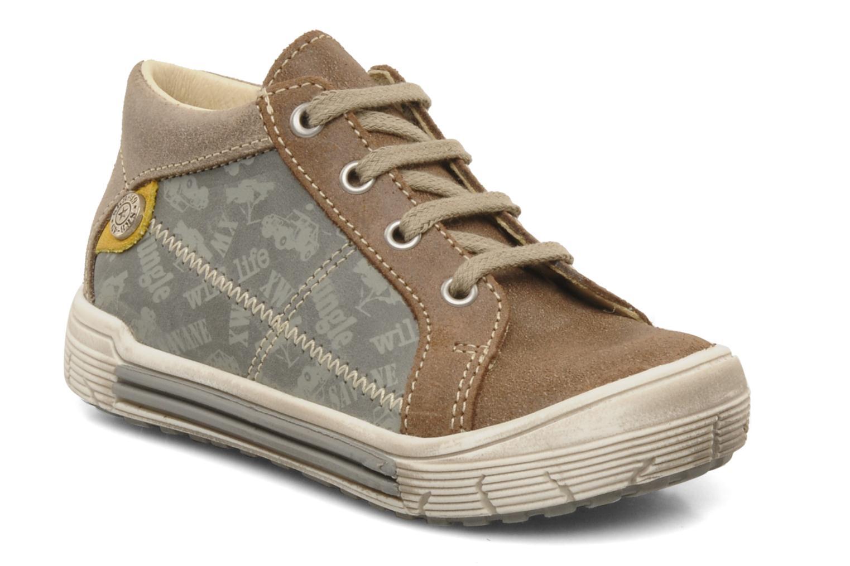 Boots en enkellaarsjes Bopy Burkina Bruin detail