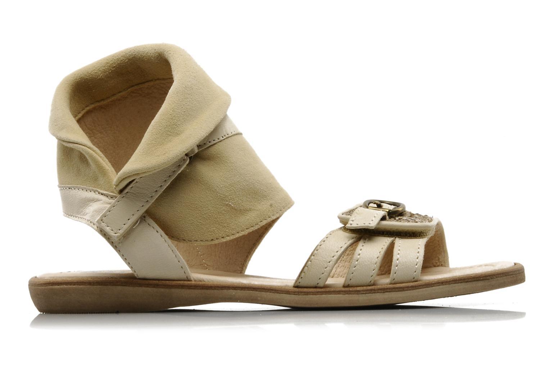 Sandales et nu-pieds Hip Hiloa Beige vue derrière