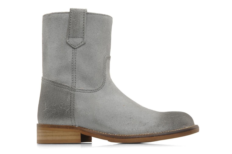 Bottines et boots Hip Hini Gris vue derrière