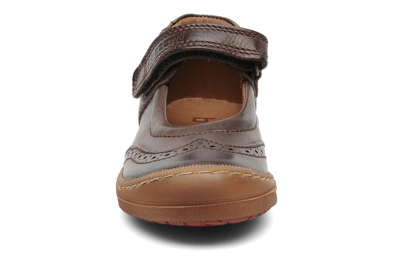 Ballerines Bisgaard Tapoui Marron vue portées chaussures