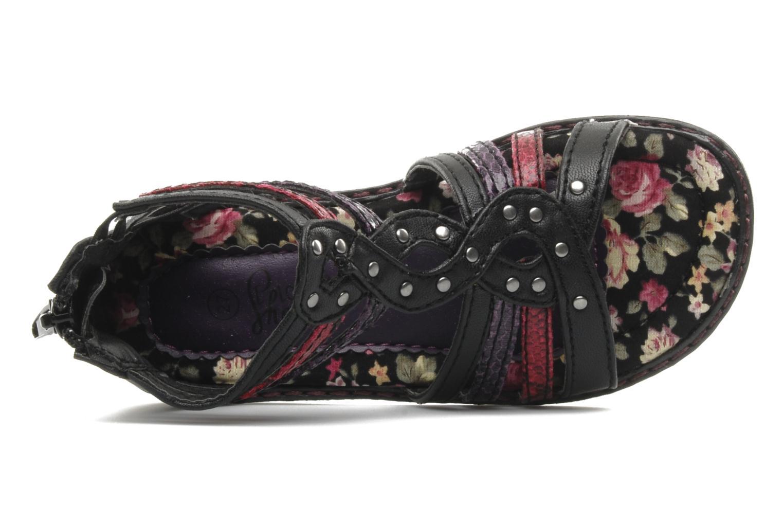 Sandalen I Love Shoes Stefania schwarz ansicht von links