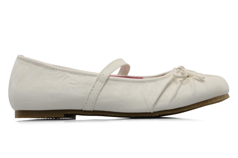 Ballerines I Love Shoes Perla Blanc vue derrière