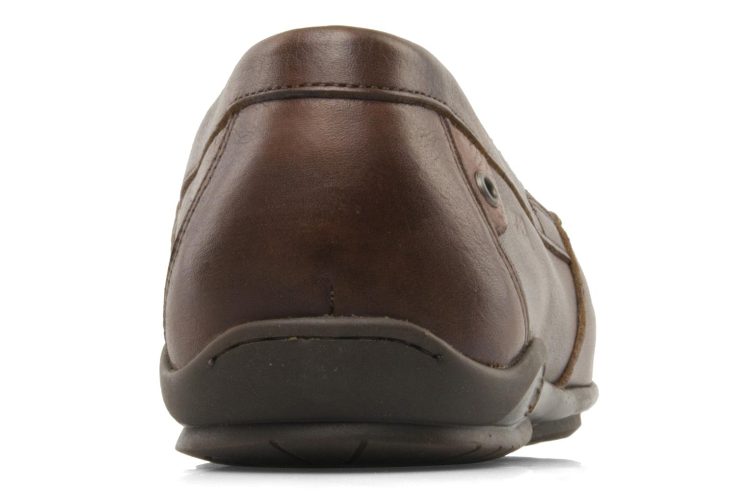 Mocasines Fluchos Baltico 7149 Marrón vista lateral derecha