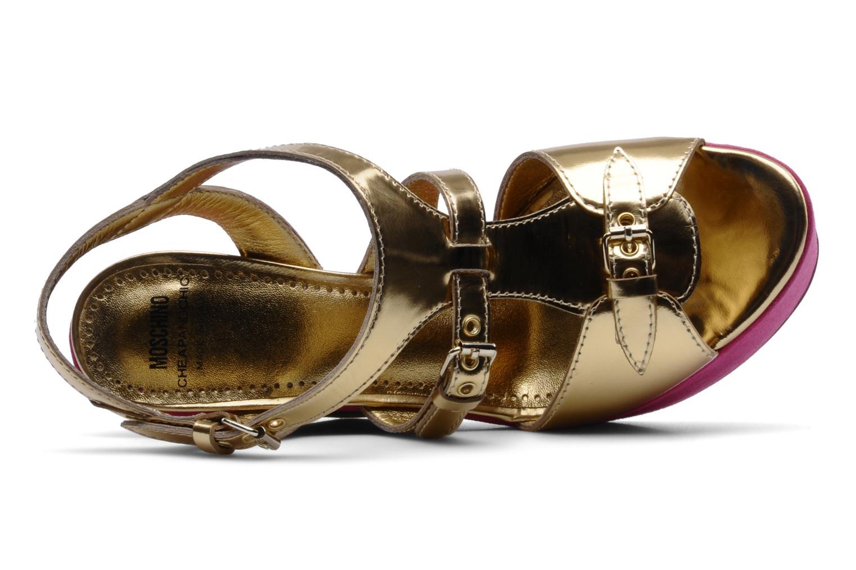 Sandalias Moschino Cheap & Chic Cepale Multicolor vista lateral izquierda