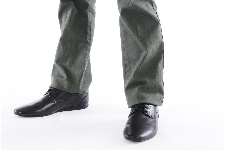 Chaussures à lacets Schmoove Fidji New Derby Lucas Leather Noir vue bas / vue portée sac