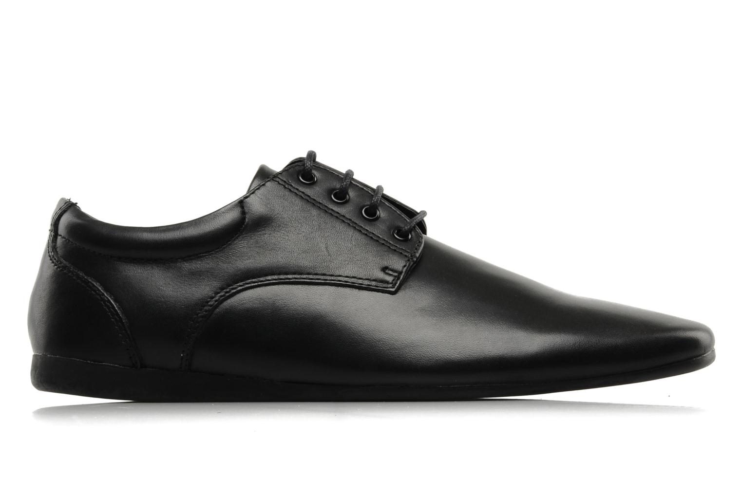 Lace-up shoes Schmoove Fidji New Derby Lucas Leather Black back view