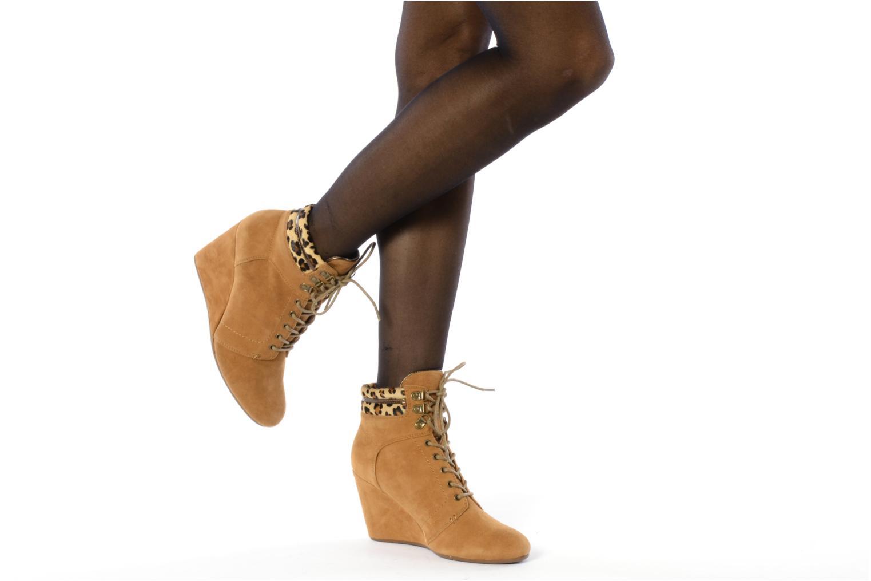 Bottines et boots No Name Diva Treck Beige vue bas / vue portée sac