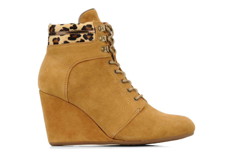 Boots en enkellaarsjes No Name Diva Treck Beige achterkant