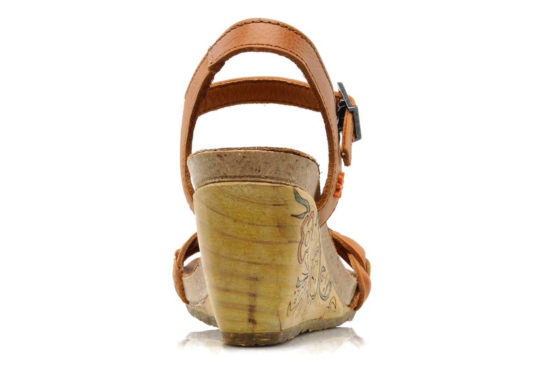 Sandales et nu-pieds Art Menorca 290 Marron vue droite
