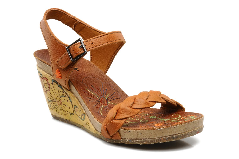 Sandales et nu-pieds Art Menorca 290 Marron vue détail/paire