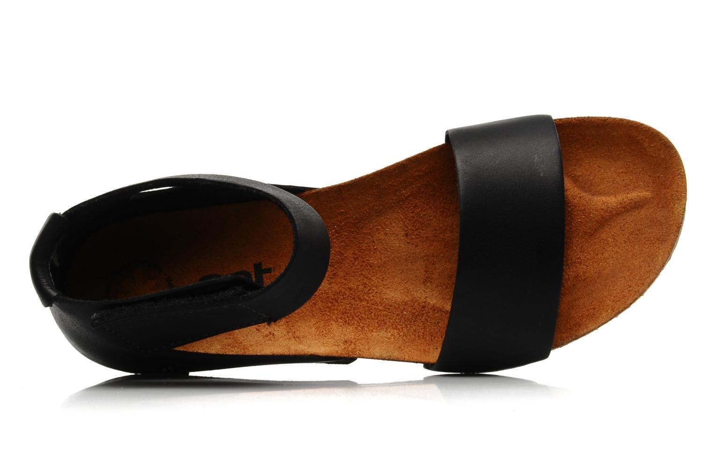 Sandales et nu-pieds Art Creta 440 Noir vue gauche