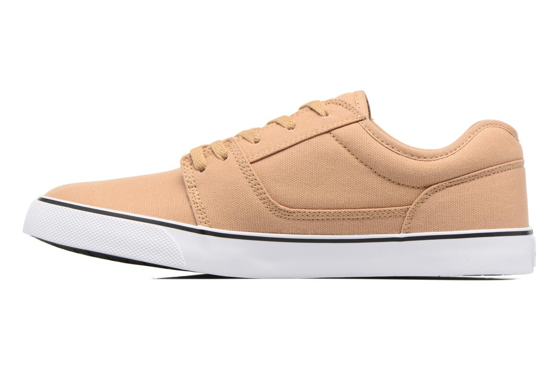 Sneaker DC Shoes Tonik TX beige ansicht von vorne