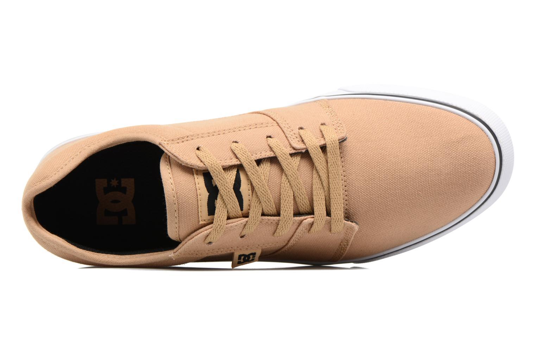 Sneaker DC Shoes Tonik TX beige ansicht von links