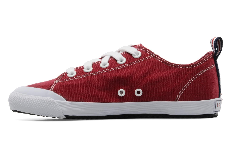 Sneakers U.S Polo Assn. Boris Rood voorkant