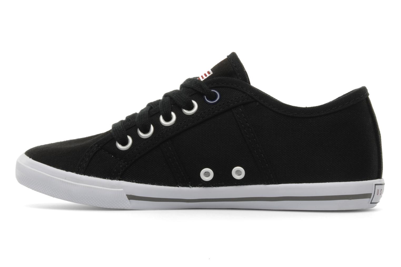 Sneakers U.S Polo Assn. Bange Zwart voorkant