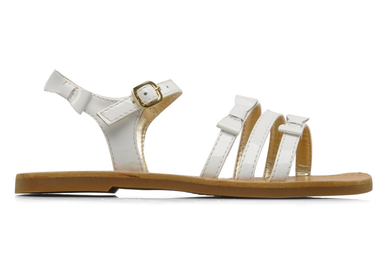 Sandals Unisa Yastin White back view