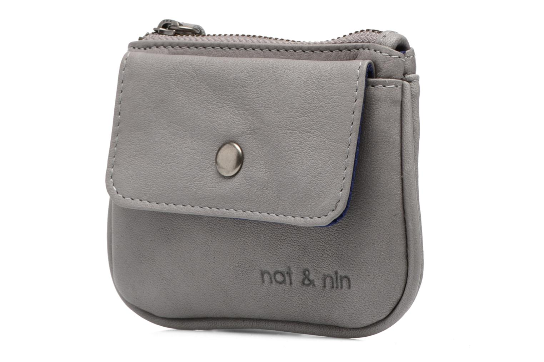 Portemonnaies & Clutches Nat & Nin Tommy grau schuhe getragen