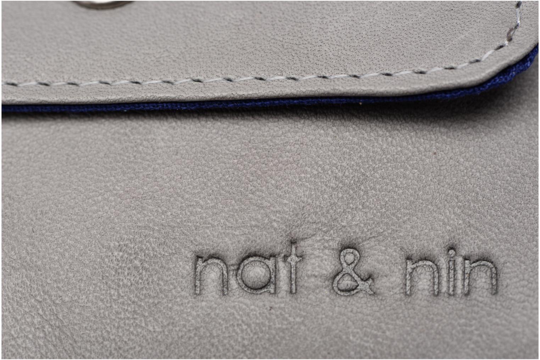 Portemonnaies & Clutches Nat & Nin Tommy grau ansicht von links