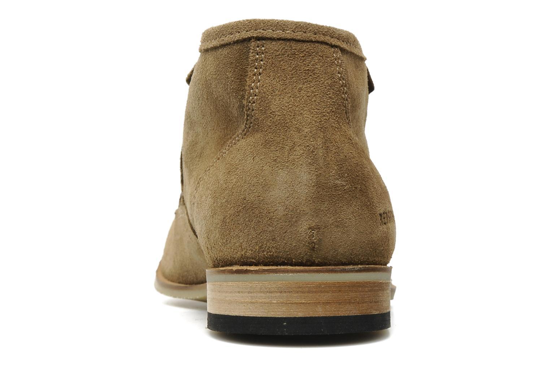 Chaussures à lacets Redskins Estonia Beige vue droite