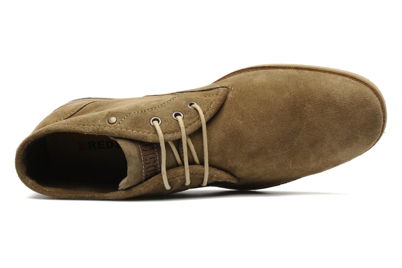 Chaussures à lacets Redskins Estonia Beige vue gauche