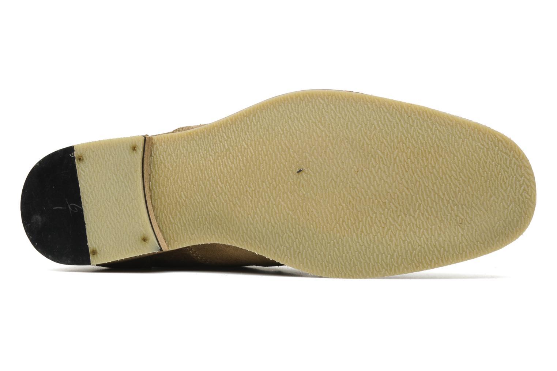Chaussures à lacets Redskins Estonia Beige vue haut