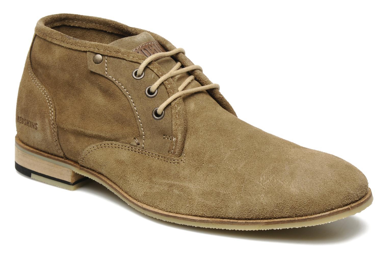 Chaussures à lacets Redskins Estonia Beige vue détail/paire