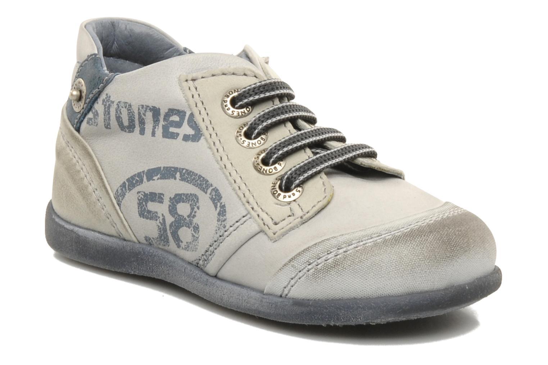 Sneakers Stones and Bones Sul Grå detaljerad bild på paret