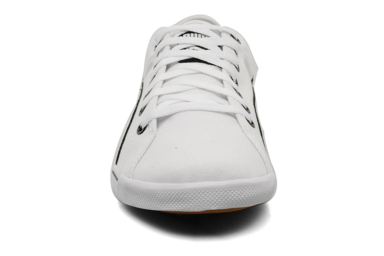 Sportschuhe Puma Benecio canvas weiß schuhe getragen