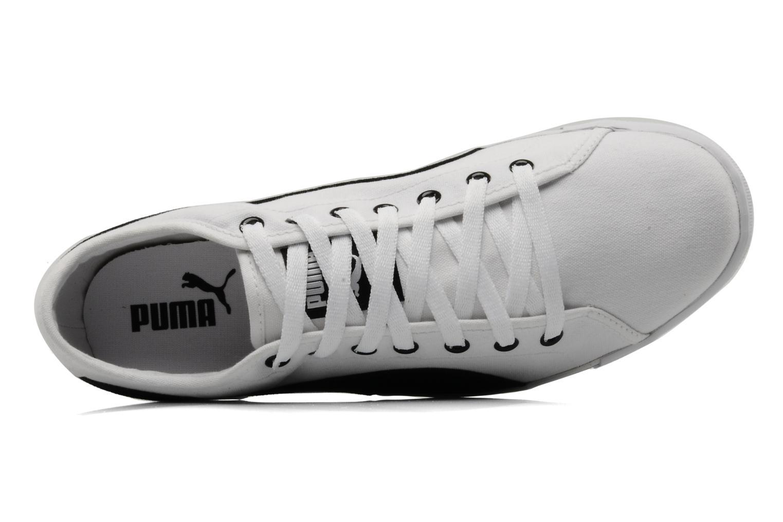 Sportschuhe Puma Benecio canvas weiß ansicht von links