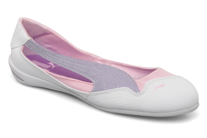 Ballet pumps Puma Winning diva jr White detailed view/ Pair view