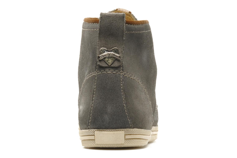 Zapatos con cordones Koah Gabe Gris vista lateral derecha