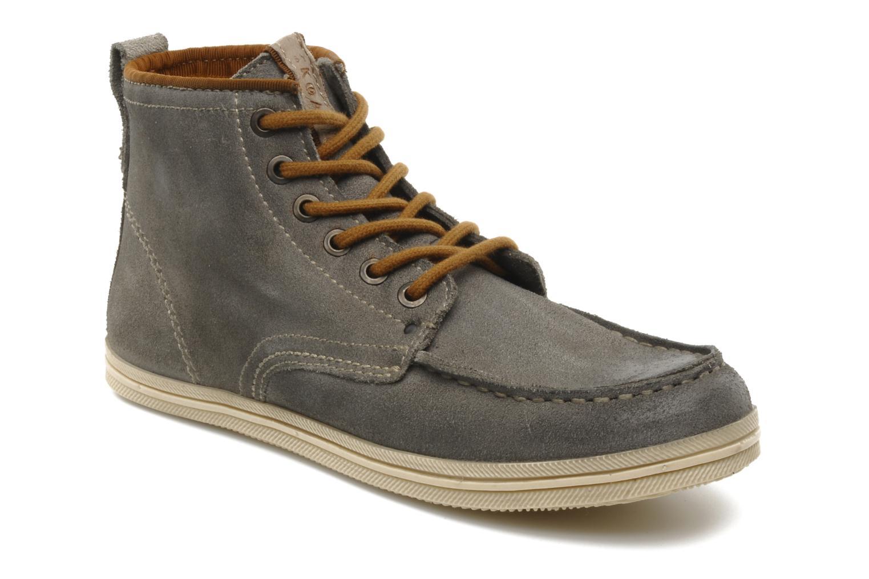 Zapatos con cordones Koah Gabe Gris vista de detalle / par
