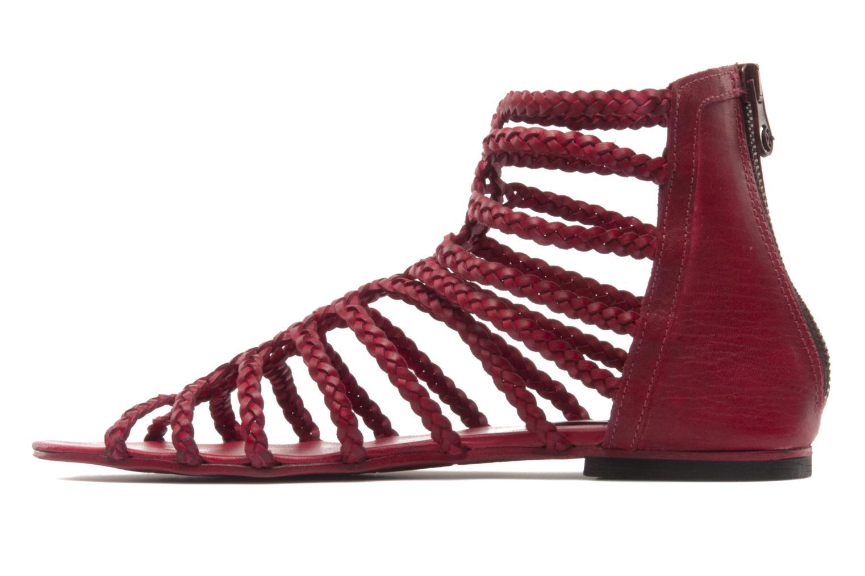 Sandali e scarpe aperte Koah Rihanna Rosso immagine frontale