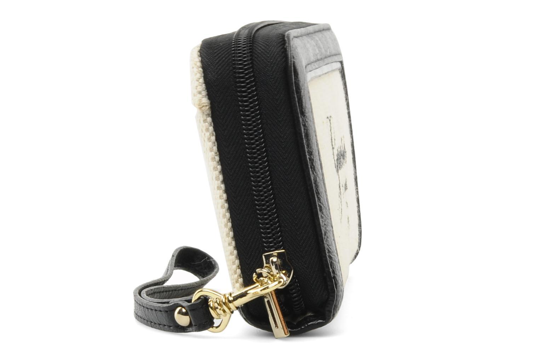 Portemonnaies & Clutches Guess Shanie Large ZipAround schwarz ansicht von rechts