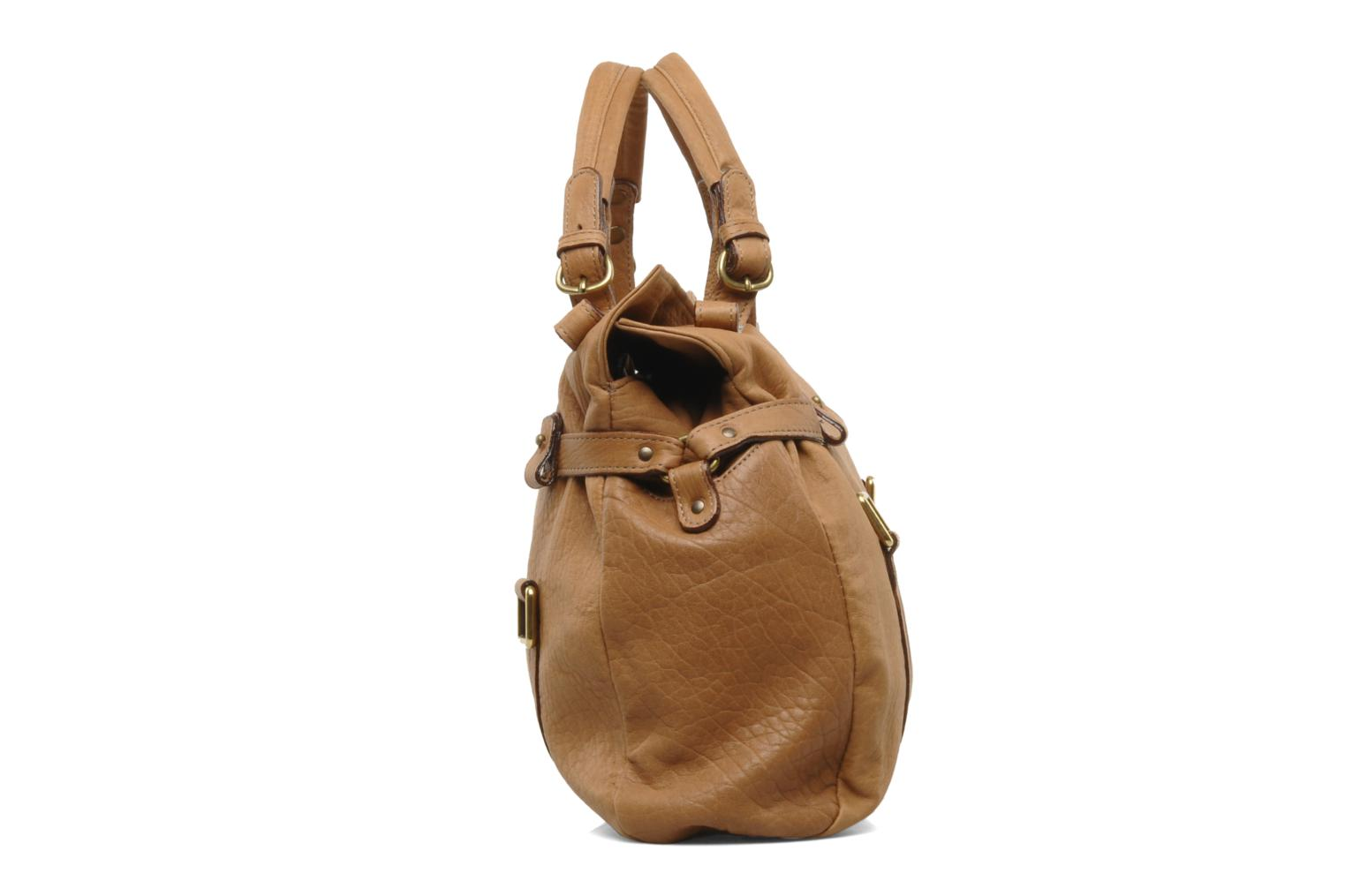 Handbags Abaco Puma Brown view from the right