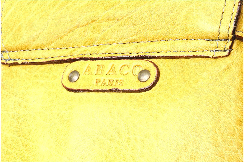 Bolsos Clutch Abaco CHITTA Amarillo vista lateral izquierda