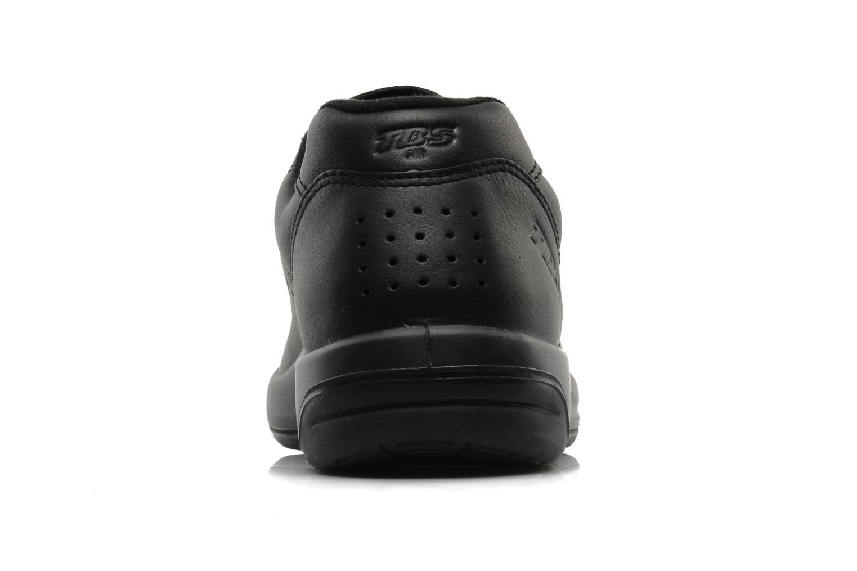 Sneaker TBS Easy Walk Albana schwarz ansicht von rechts
