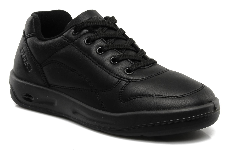 Sneakers TBS Easy Walk Albana Zwart detail