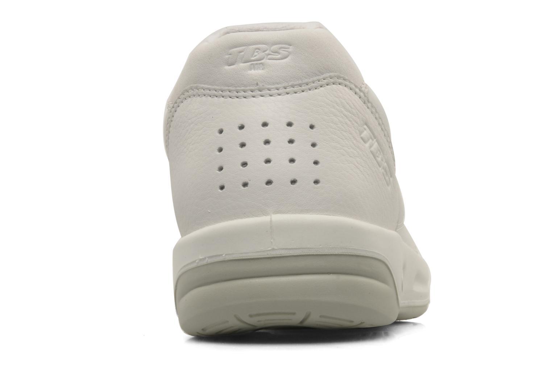 Baskets TBS Easy Walk Albana Blanc vue droite