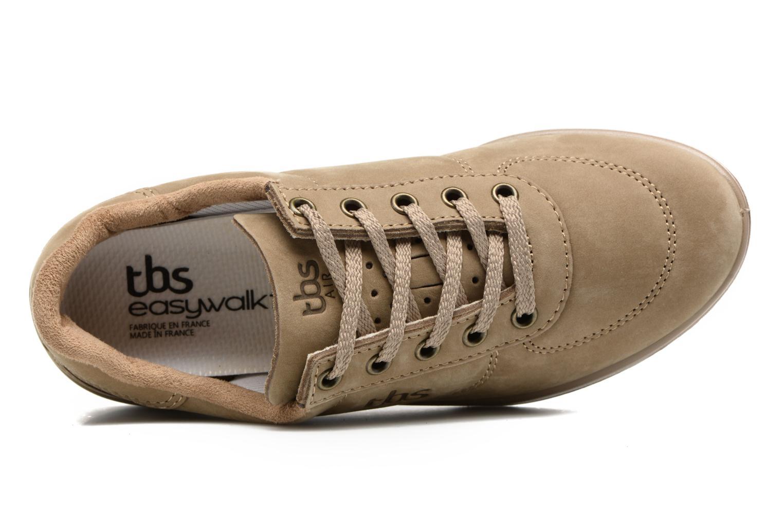Baskets TBS Easy Walk Brandy Marron vue gauche