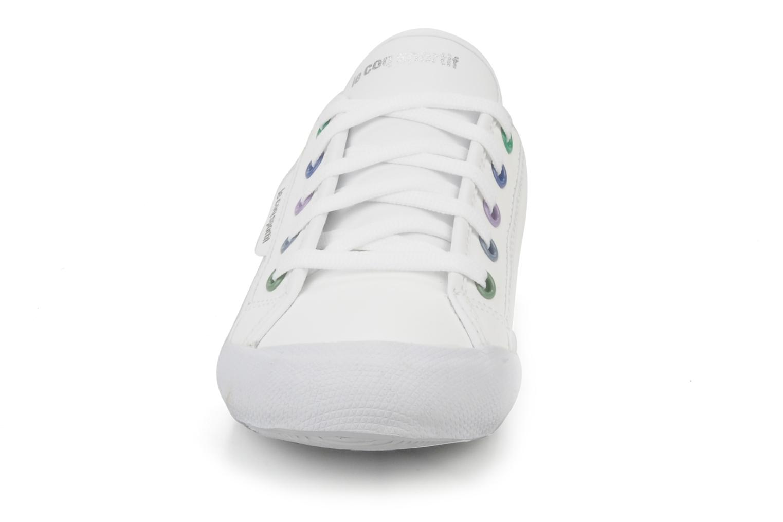 Sneakers Le Coq Sportif Deauville Plus Shaded Ps Syn Bianco modello indossato