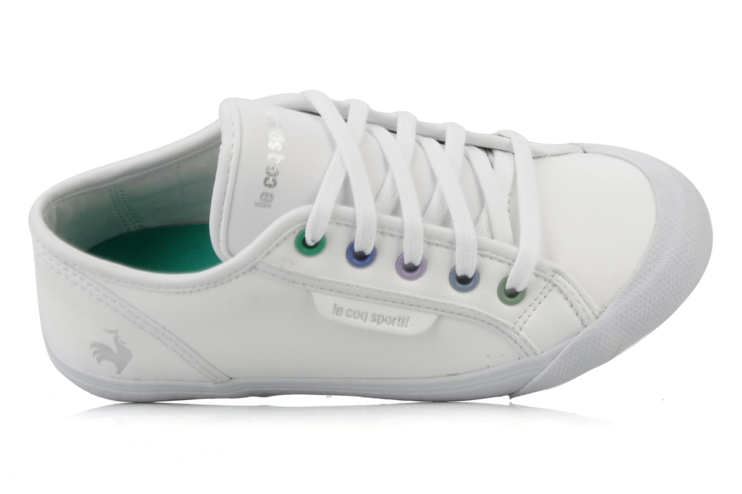 Sneakers Le Coq Sportif Deauville Plus Shaded Ps Syn Bianco immagine sinistra