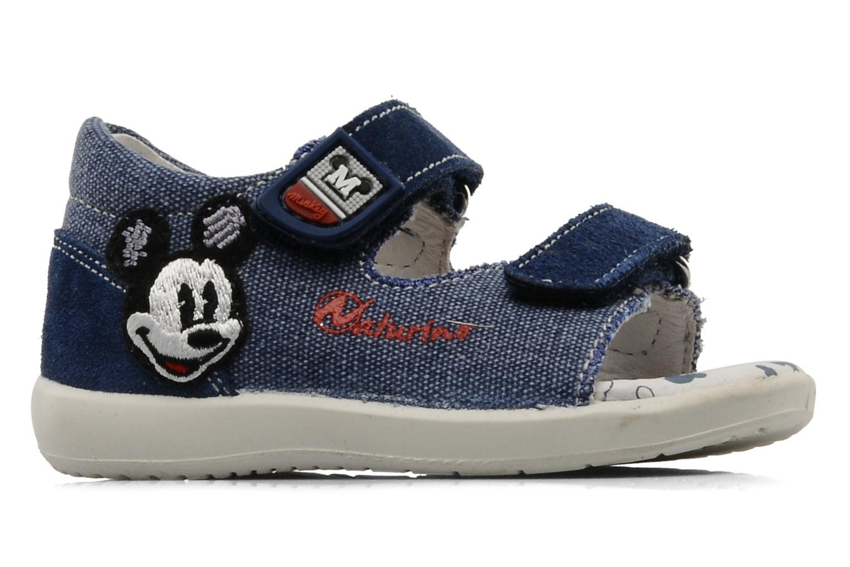 Sandales et nu-pieds Naturino Disney 950 Bleu vue derrière